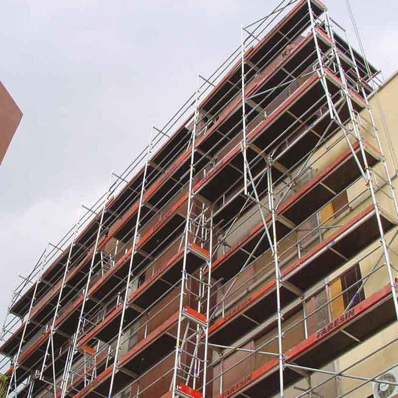 פיגומים לשיקום מבנים מסוכנים